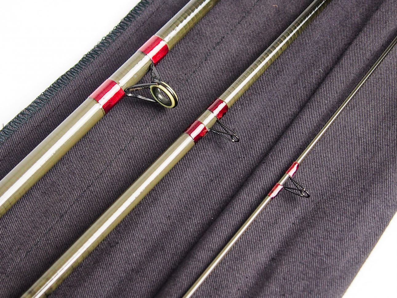 Rare hardy 3 piece 12 carbon match fishing rod for 3 piece fishing rod