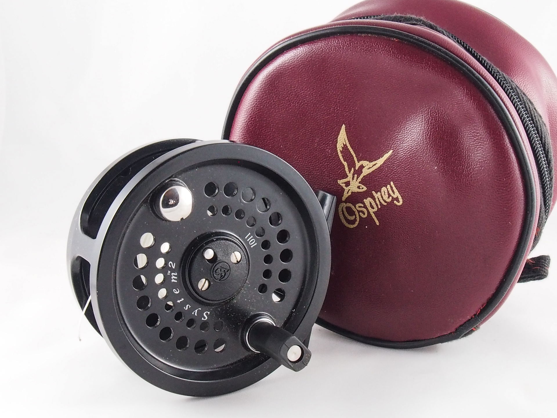 System 2 3 3 4 10 11 salmon fly reel vintage fishing for Salmon fishing reels