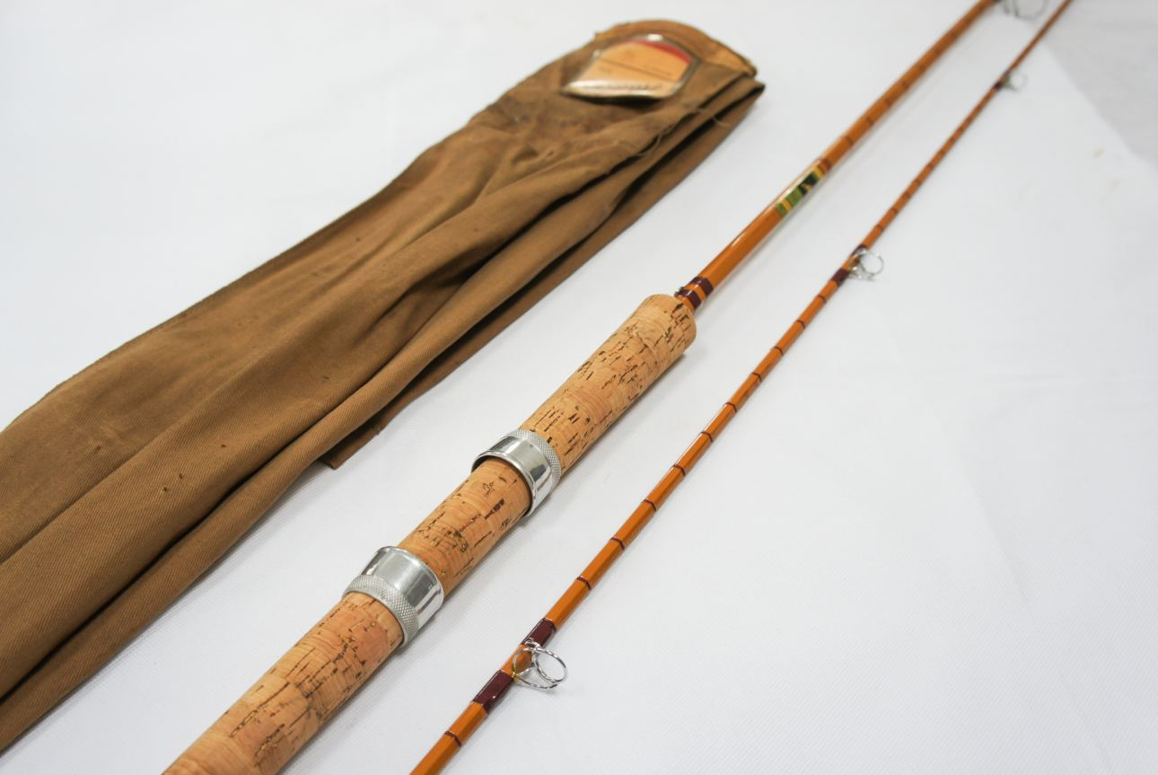 Avon and carp rods vintage fishing tackle for Vintage fishing rods