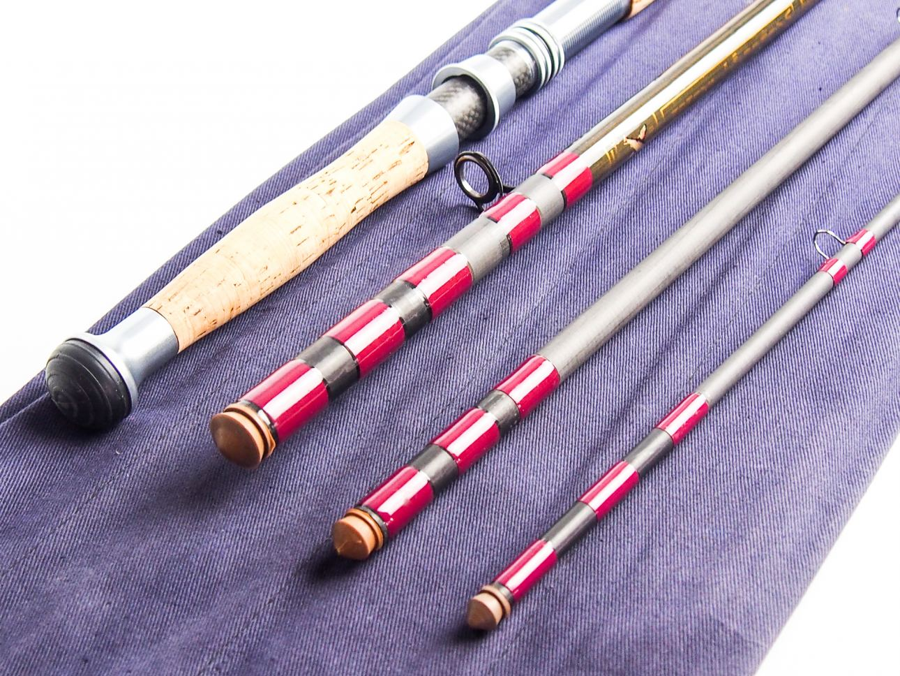 Bruce walker salmon 16 6 3 piece 10 11 salmon fly for 3 piece fishing rod