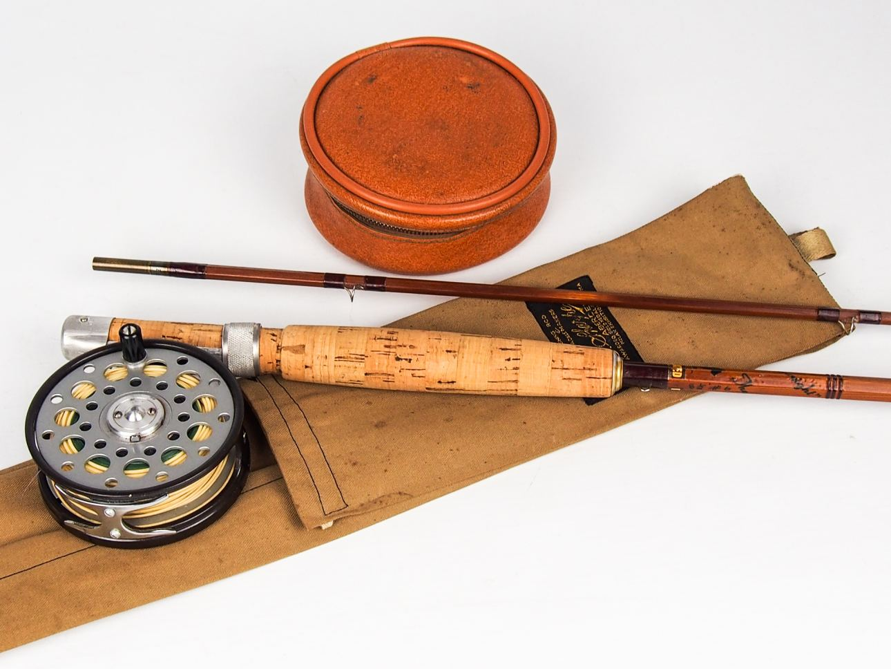Farlows reels vintage fishing tackle for Vintage fishing tackle