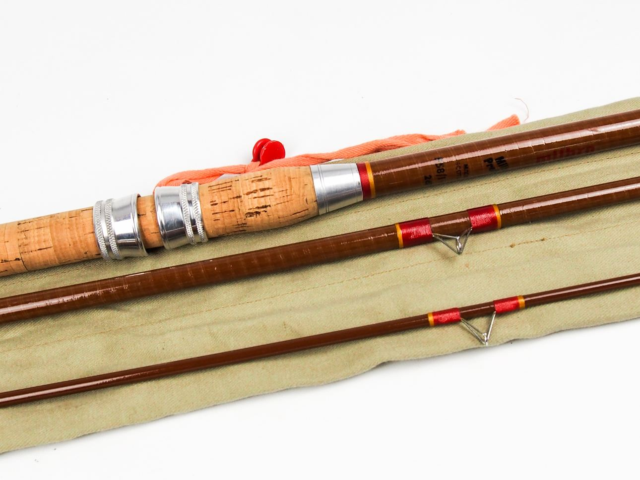Mint milbro perfect 3 piece 12 glassfibre match float for How to make a fishing rod