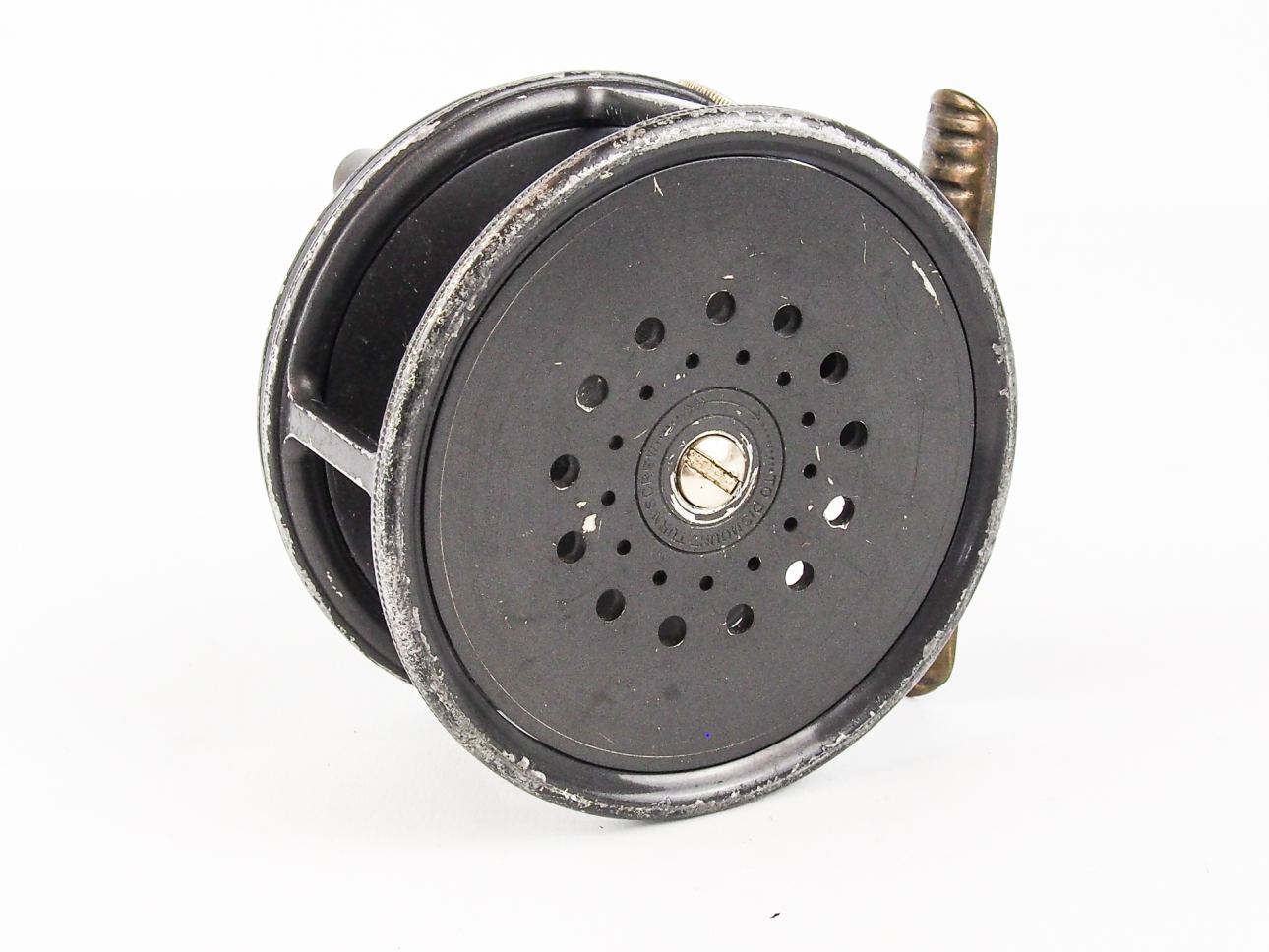 Hardy 3 3 4 perfect salmon fly reel vintage fishing tackle for Salmon fishing reels