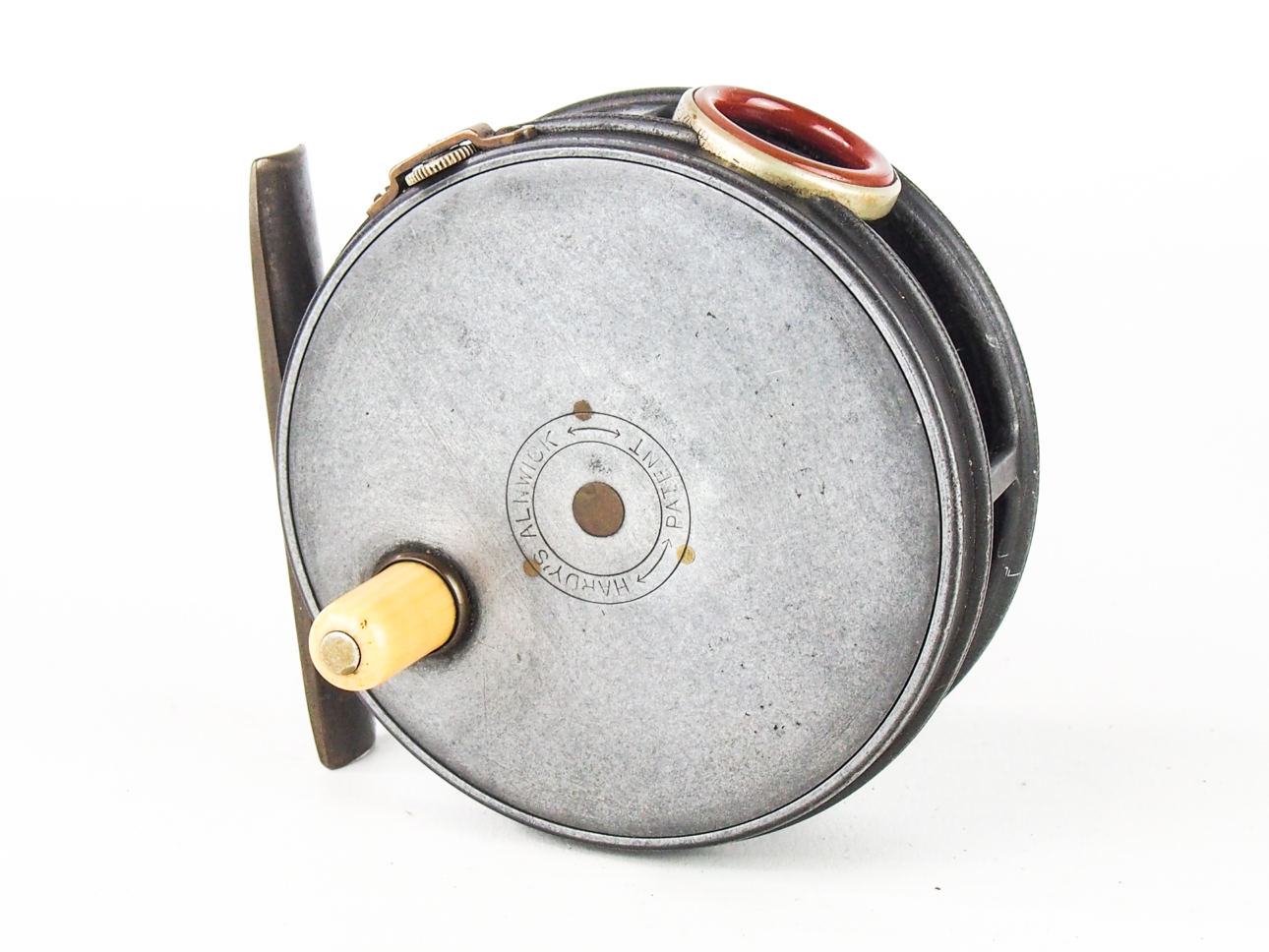 HARDY 1906 3 3/8″ (RED AGATE) THE PERFECT TROUT FLY REEL ...