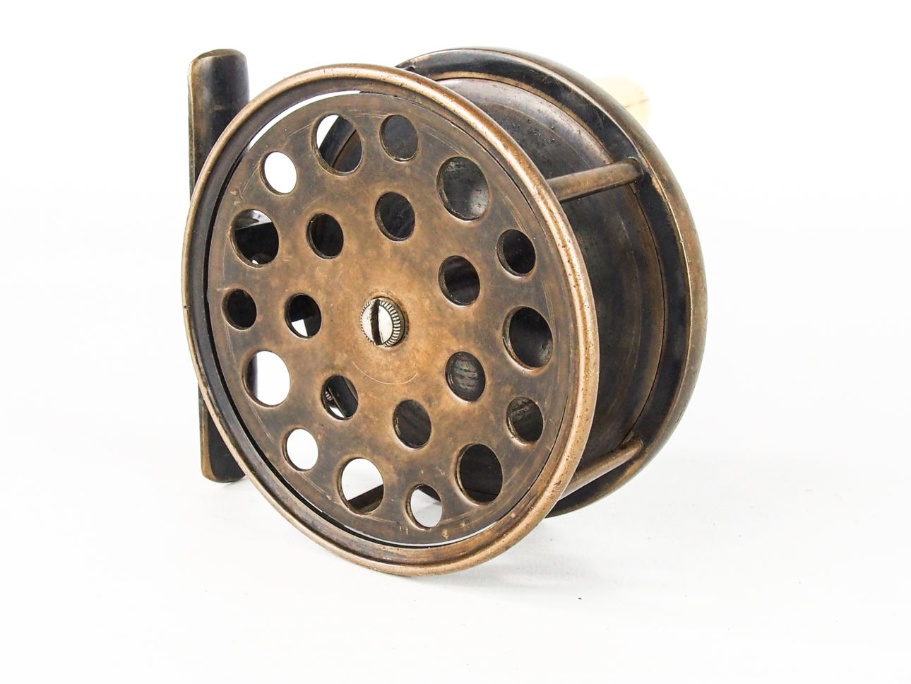 RARE HARDY C189Os 4″ ALL BRASS SALMON PERFECT FLY REEL ...